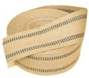 a roll of jute webbing