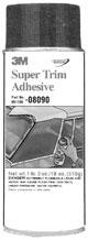 Can of Super Trim Adhesive